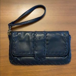 Old Navy faux leather wristlet